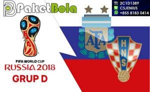 Argentina Vs Kroasia Menjadi Laga pertandingan Ajang Penebus Dosa