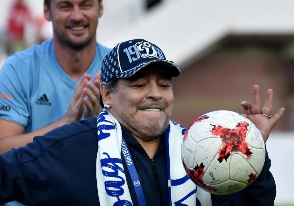 Maradona Menggila Di Russia