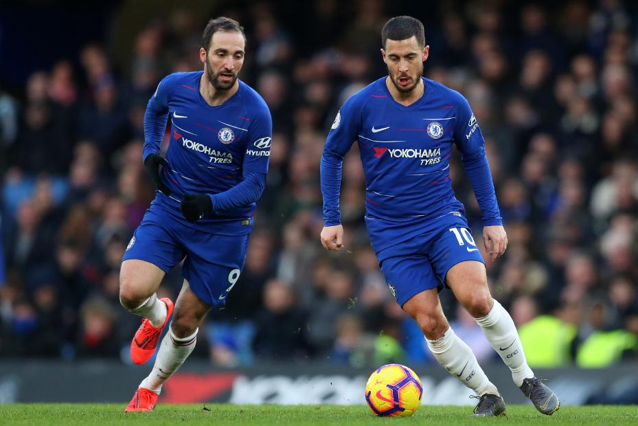 Higuian Tidak Ingin Hazard Tinggalkan Chelsea