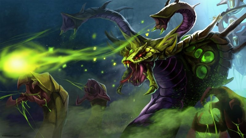 Review Hero Venomancer Dalam Game Dota 2