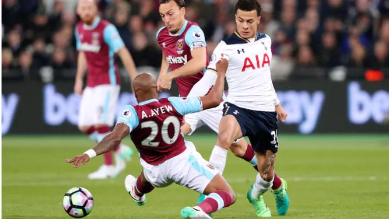 West Ham 0-1 Tottenham Tertinggal Pada Babak Pertama