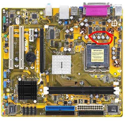 Komponen Untuk Membentuk Sebuah Komputer